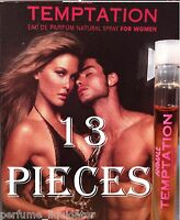 Perfume Samples For Women 13 Vials Temptation By Animal 1.55ml Travel Purse Size