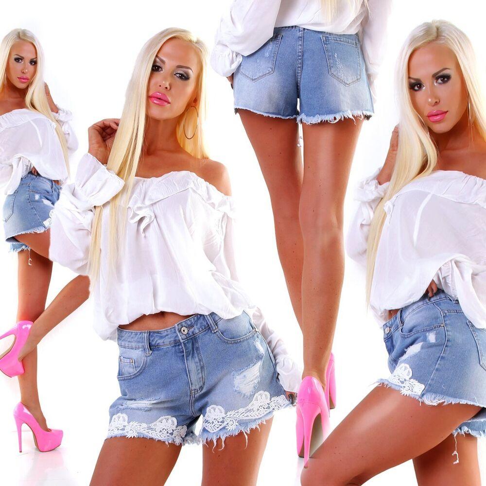 5428 Femmes latzjeans latzshorts-shorts Jeans Shorts Jeans Short Pantalon Court
