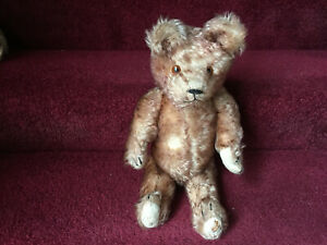 Antique-German-Teddy-Bear-1920-039-s-Long-Tipped-Mohair