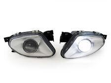 03-06 Mercedes Benz W211 E Class Projector Glass Fog Light + No Error LED Bulb