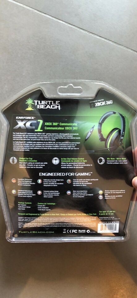 Headset, Xbox 360, Turtle Beach