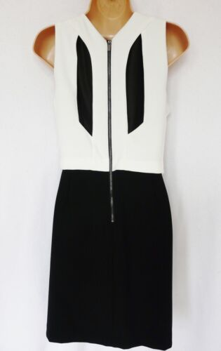 NEXT BNWT layered white black Tailored Premium skater dress wedding occasion