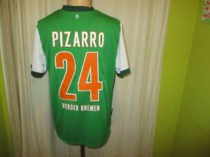 Werder-Bremen-Nike-Trikot-2009-10-034-SO-GEHT-BANK-HEUTE-034-Nr-24-Pizarro-Gr-M