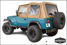 Premium Replacement Soft Top With Tinted Window 1988 1995 Jeep Wrangler Yj Spice Fits 1994 Jeep Wrangler