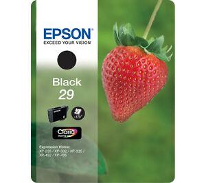 Epson XP-342 XP-345 Genuine Black Ink Cartridge