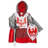 Renaissance Medieval King Arthur - Boys Child Dress Up Knight Halloween Costume