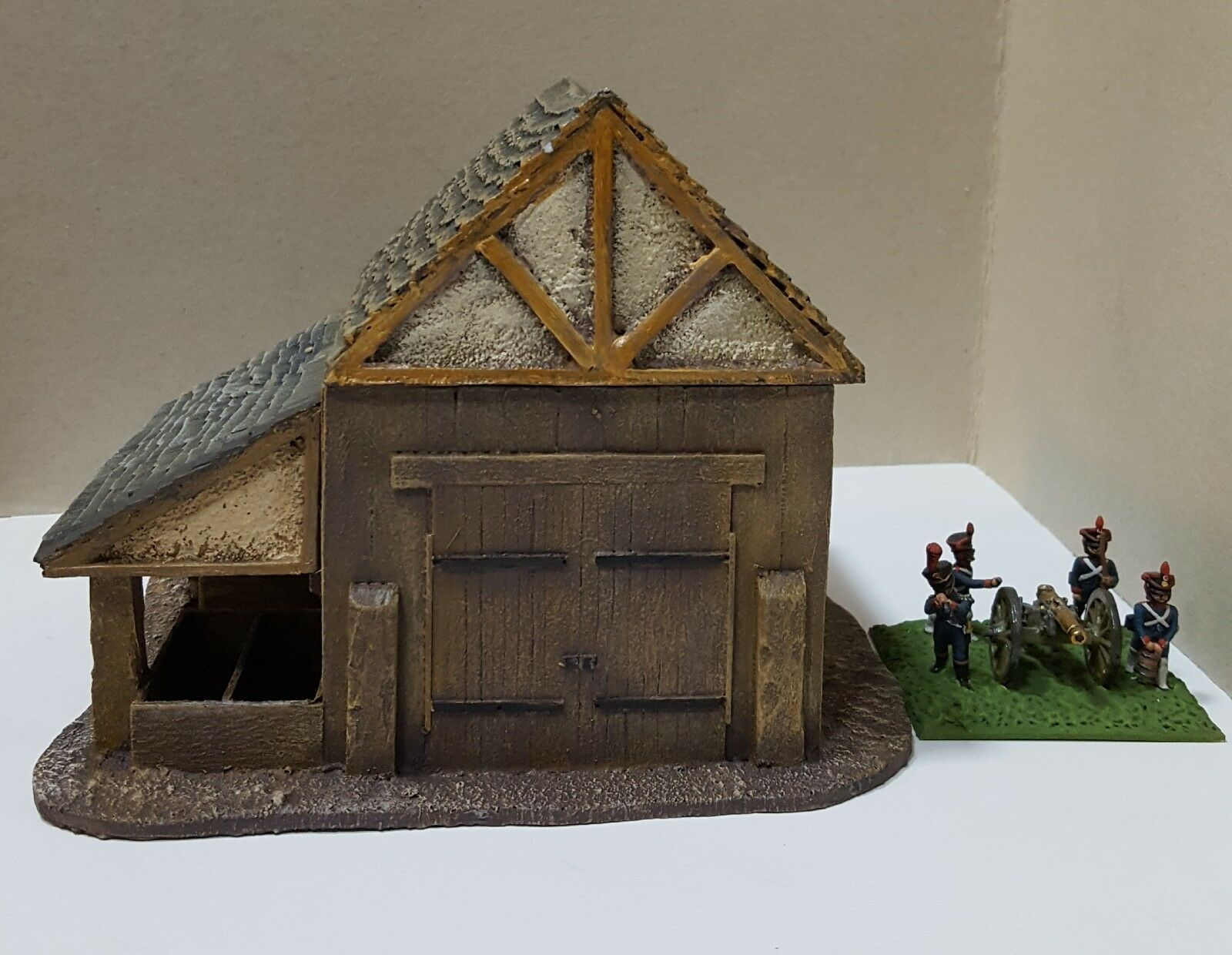 WAR YEARS SEVEN NAPOLEONIC - MEDIEVAL - BUILDINGS PMC