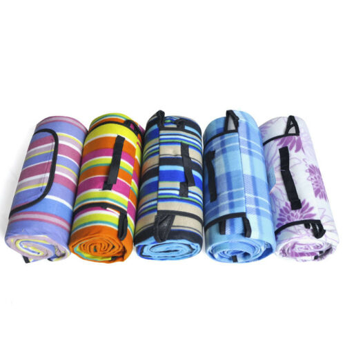 Imperméable pliable Outdoor Tapis Camping Picnic Tapis Plaid Beach Blanket 150x200cm