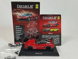 1-64-Kyosho-Ferrari-Minicar-Collection-12-599XX-EVO-Evoluzione-2011-2012-Red-NEW