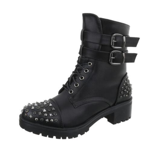 Boots Used Optik Damenschuhe 3907 Ital-design