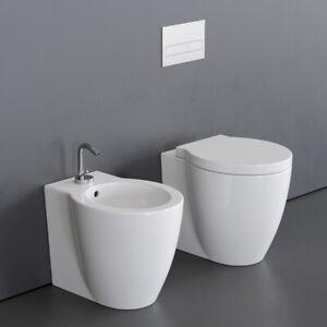 Sanitari Bagno Water Bidet E Coprivaso Easy Bath Evo A Terra Filo Parete Ebay