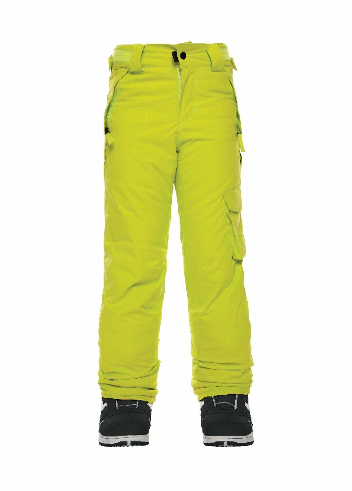 NWT 686 Kids Youth Agnes Insulated Snowboard Pant S Small 10K Pants Lime ac985