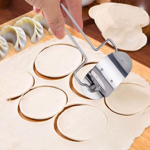 Edelstahl-Teig-Presse-Mehlkloß der Werkzeug-Form-Kreis-Schneider herstellt