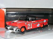 Quartzo 1008 Ford Fairlane Convertible Glen Wood 1957 NASCAR #21 1/43