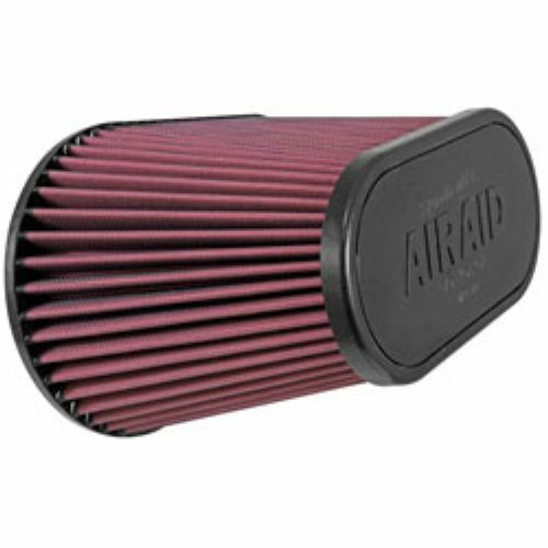 """7 3//8/"""" Height Airaid 720-128 Universal Oval Air Filter 4.5/"""" Flange Inside"""