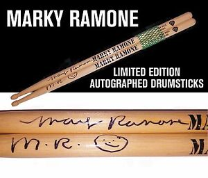 Marky-Ramone-Limited-Edition-Autographed-Drumsticks