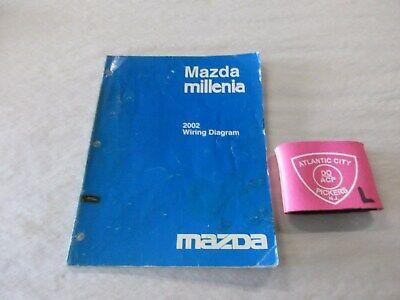 2002 Mazda Millenia Wiring Diagrams Service Manual Ebay
