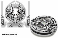 Skin Decal Wrap For Irobot Roomba 560 Vacuum Stickers Accessory Kit Widow