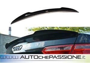 Spoiler-alettone-cofano-per-Audi-A5-8T-2007-gt-2011-cap-nero-lucido
