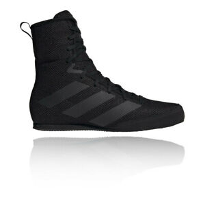 Details about adidas Mens Box Hog 3 Plus Boxing Shoes Trainers Sneakers Black Lightweight