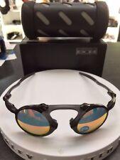 NEW Oakley Madman Dark Carbon Polarized Ruby Iridium Sunglasses OO6019-04