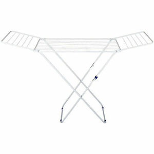 Airer Folding Clothes Laundry By Jvl Folds Flat Drying Clothing