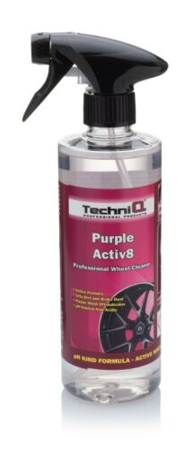 Kit de Cepillo de la rueda 2 x Limpiador de Rueda de Aleación púrpura Trolls aliento púrpura Activ 8