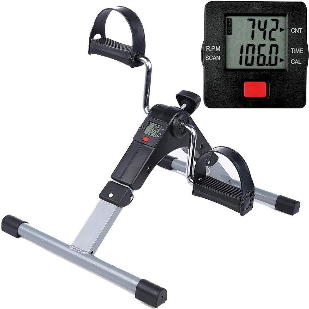 Mini bicicleta de ejercicio portátil casa pedal ejercicio gimnasio fitness brazo