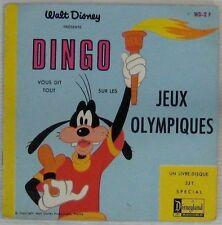 Dingo 45 tours Walt Disney  Jeux Olympiques