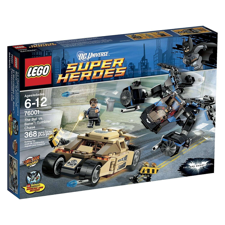 NEW SEALED Lego DC Batman 76001 The Bat vs Bane Tumbler Chase