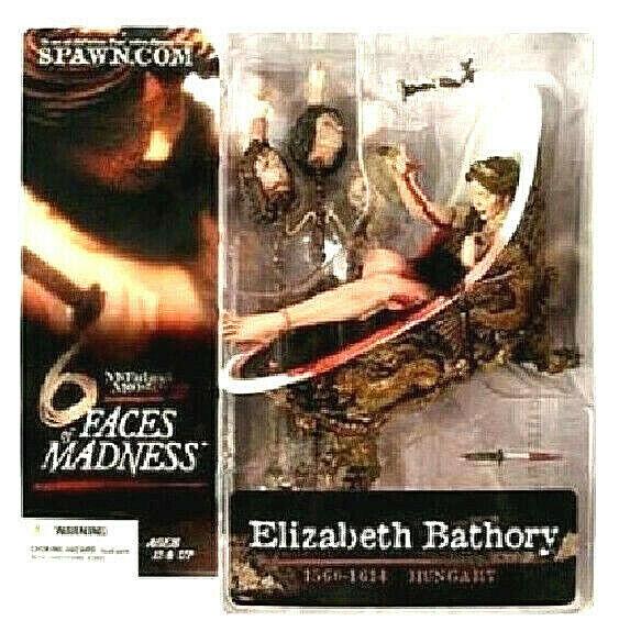 ELIZABETH BATHORY Faces Of Madness figura PVC 16cm McFarlane McFarlane