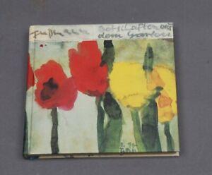 Klaus Fußmann - Botschaften aus dem Garten mit Originalem Farblinolschnitt