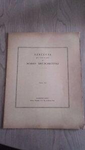 Berceuse Per Violino E Piano M.BRUSCHETTINI Spartiti A. Lecud A Parigi 3 Per