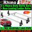 L3 H1 XL 2 x Citroen Dispatch Van Roof Rack Bars Rhino and Rear Roller 2016-2019