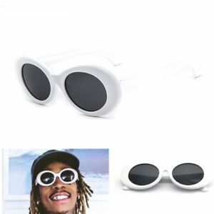 54d1d427dbe Image is loading Kurt-Cobain-Clout-Goggles-Sunglasses-Rapper-Oval-Shades-