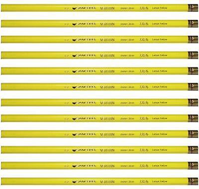 12PC Canary Yellow- 735 Prismacolor Verithin Colored Pencil 2431