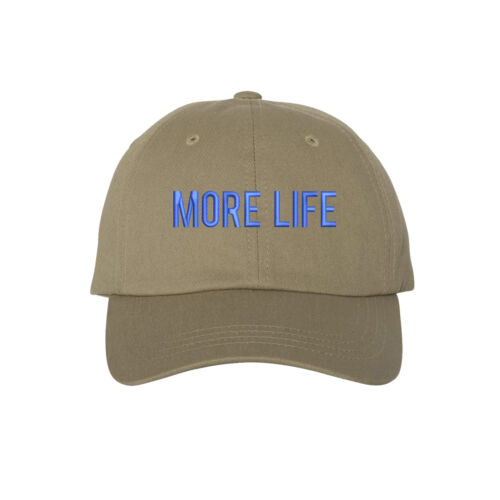 Many Colors MORE LIFE Dad Hat Low Profile Embroidered Drizzy Baseball Caps