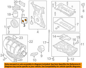 *NEW* GENIUINE OEM 5F9Z7A191AA Ford Transaxle Transmission Pan Gasket USA SELLER