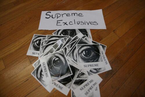 Supreme x Mc Escher Sticker SS17