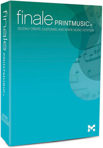 Details about NEW Make Music Finale Print Music 2014 Notation Digital  Download PC
