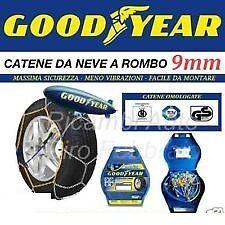 CATENE DA NEVE GOOD YEAR 9mm  GRUPPO 40 RUOTE 165/65/14