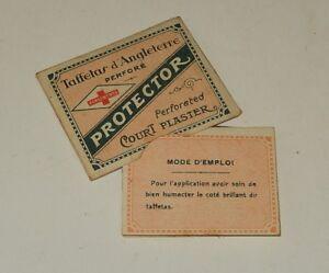 DernièRe Collection De Ancienne Pochette : Taffetas D'angleterre Perforé Protector - Pansements