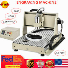 New Listingusb 3 Axis 6040 Cnc Router Wood Engraver Drilling Milling Cutting Machine 15kw