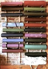Foam Roller Yoga Mat Storage Rack Easy Wall Mount Mounting Hardware Included