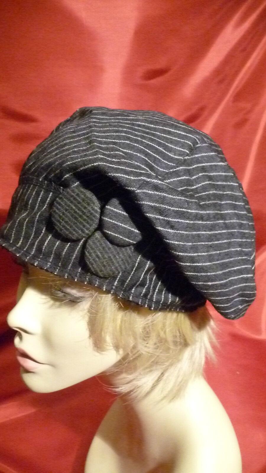 Mütze Wolle Barett WOLLMÜTZE Atelier Hut Einheitsgröße BROSCHEN Hat Chapeau | Wir haben von unseren Kunden Lob erhalten.  | Nutzen Sie Materialien voll aus  | Discount