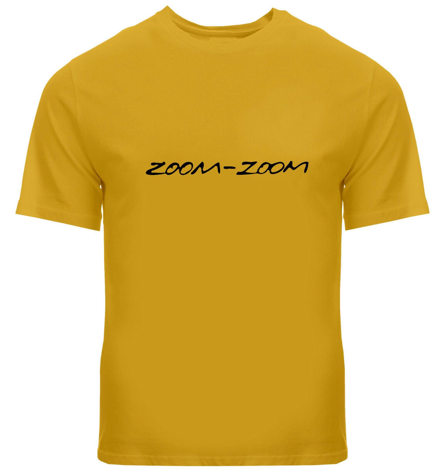 Zoom-Zoom Mazda Slogan Catchphrase 3 6 Mazda3 Mazda6 Car Mens Tee V-Neck T-Shirt