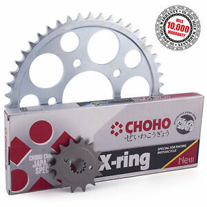 Triumph-600-Speed-Four-2003-X-Ring-Drive-Chain-and-Sprockets-Kit