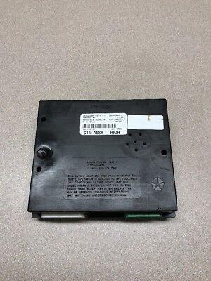 00-01 56045448AC Dodge RAM 1500 Body Alarm Control Timing Module w//keyless