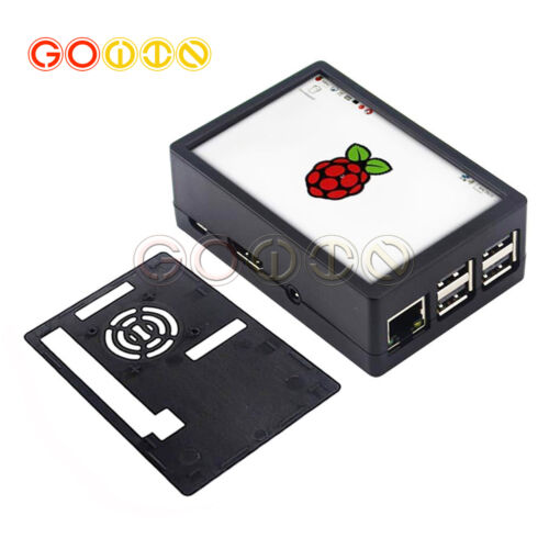 3.5 inch Touch screen LCD Display /& ABS Case Kit For Raspberry Pi 3 Model B+