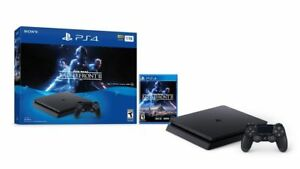 New-Sony-PlayStation-4-Slim-Star-Wars-Battlefront-2-Bundle-PS4-Console-1TB-Black